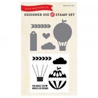 Hot Air Balloon Die & Stamp Set by Echo Park