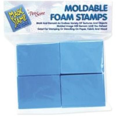 Magic Stamp Moldable Foam Stamps 8/Pkg
