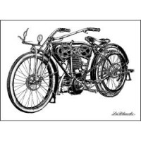 LaBlanche Silicone Stamp Motorcycle