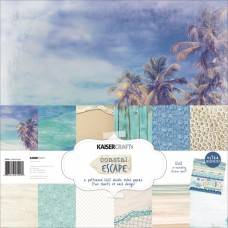 Coastal Escape Collection 30x30 Kaisercraft