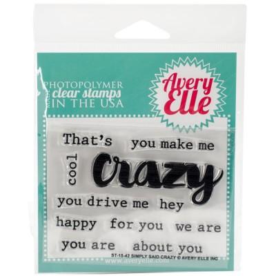 Simply Said Crazy - Tampons par Avery Elle