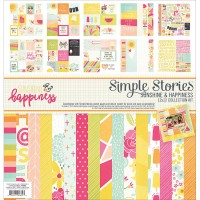 Sunshine & Happiness 30x30 Paper Kit par Simple Stories