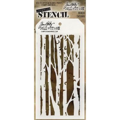 Tim Holtz Layering Stencil - Birch