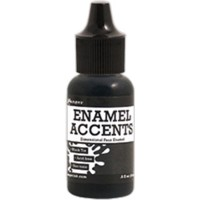 Black Tie Enamel Accents