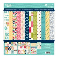 Chit Chat Chowder 30x30 Collection Kit par Jillibean