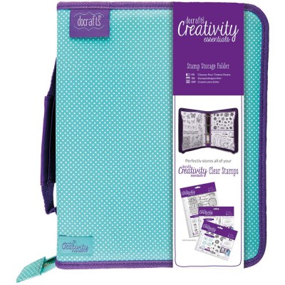 Docrafts Stamp Storage Folder