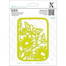 Wildflower Butterfly X-Cut die