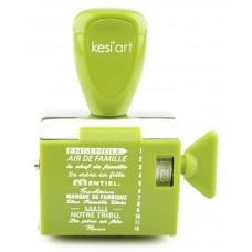Kesi'art tampon à molette - Famille