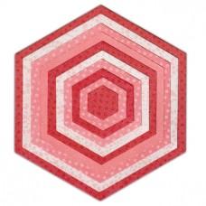 Hexagones - Sizzix Framelits