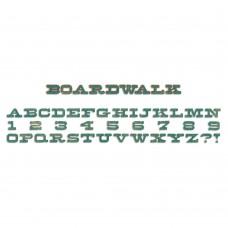 Sizzix Boardwalk Promenade Alphabet Die