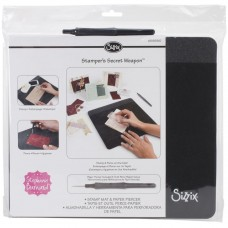 Sizzix Stamper's Secret Weapon - Tapis pour tamponnage et perce-papier