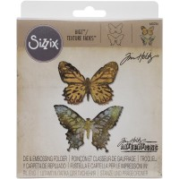 Butterfly Duo - Sizzix BIGZ die and embossing folder