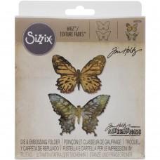 Duo Papillon - Set de die et de classeur d'embossage Sizzix