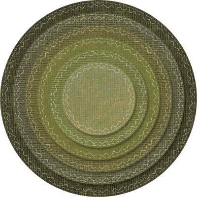 Sizzix Thinlits Dies - Tim Holtz Stitched Circles - Cercles brodés