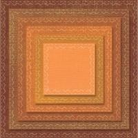 Sizzix Thinlits Dies - Tim Holtz Stitched Squares - Carrés brodés