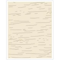 Sizzix Texture Fades Embossing Folder Birch By Tim Holtz