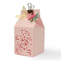 Sizzix Thinlits Dies Butterfly Favor Box