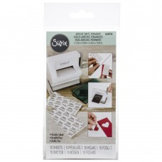Sizzix Sidekick Adhesive feuilles double-face - permanentes