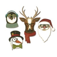 Cool Yule Sizzix Thinlits Dies By Tim Holtz