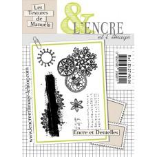 Dentelles encrées - clear stamps by L'Encre et L'Image