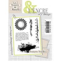 Textures Textiles - clear stamps by L'Encre et L'Image