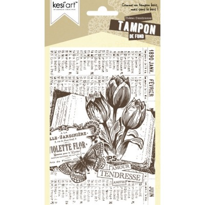 Background Stamp by Kesi'art - Tendresse