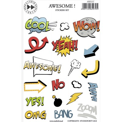 Awesome stickers by Studio Forty
