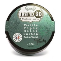 Aladine Izink 3D Pearly Texture Paste : Agave