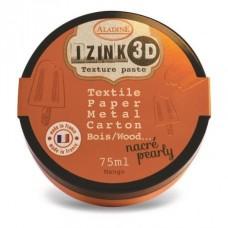 Aladine Izink Pâte à Texture 3D nacré: Mango