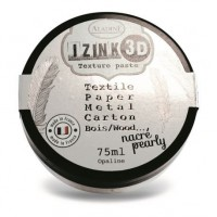 Aladine Izink 3D Pearly Texture Paste : Opaline