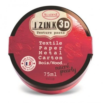 Aladine Izink 3D Pearly Texture Paste : Tulip