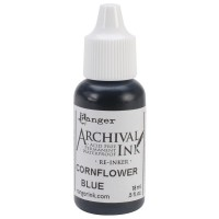 Re-inker Archival Ink - Cornflower Blue