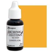 Re-inker Archival Ink - Dandelion