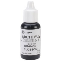 Re-inker Archival Ink - Orange Blossom