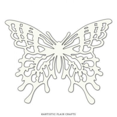 Artistic Flair Stencil Mask 101 - Butterfly #1