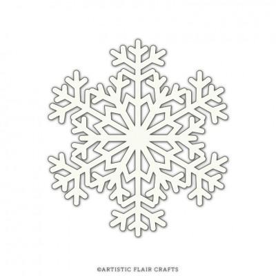 Artistic Flair Stencil Mask 101 - Snowflake #3