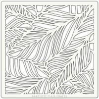 Artistic Flair Pochoir 152 x 152 mm - Fallen Leaves