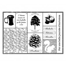 Automne XXL stamp by Lorelaï Design