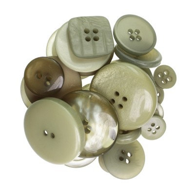 Kesi'art Sachet of buttons - Kraft