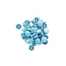 50 Blue Brads - Kesi'art