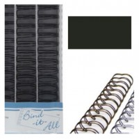 "Bind-it-all wires Black 1.25"" (32mm)"