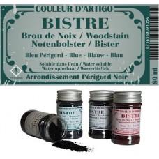 Bistre - Brou de noix - Bleu périgord