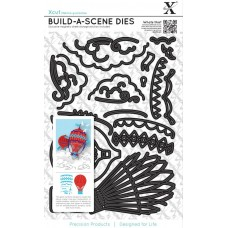 Build-a-scene Hot Air Balloon X-Cut dies