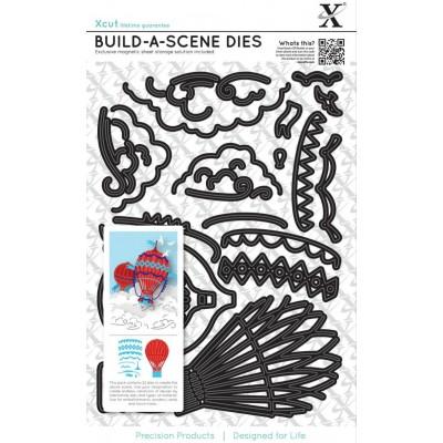 Build-a-scene Hot Air Balloon X-Cut dies
