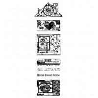 Woodware Clear Stamp Build A Home clear stamp