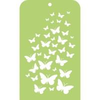 Kaisercraft Mini Designer Template Butterfly Skies