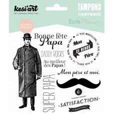 Fête des Pères - Clear Stamps by Kesi'art
