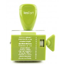 Kesi'art tampon à molette - Vie