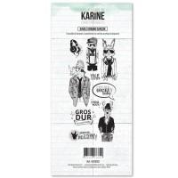 Jungle Urbaine Garçon - Tampons transparents: Ateliers de Karine