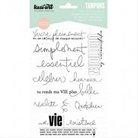Vie - Clear Stamps by Kesi'art